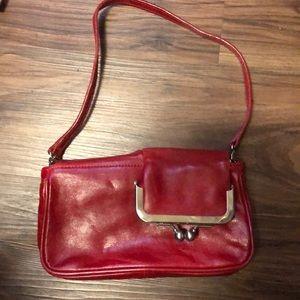 Latico NJ USA Genuine Leather clutch 2 coin bag